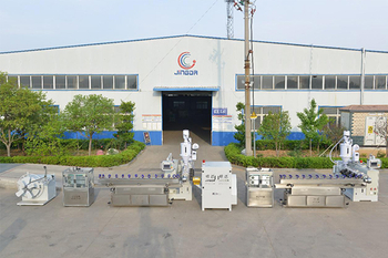 Development status of plastic machinery industry in China.