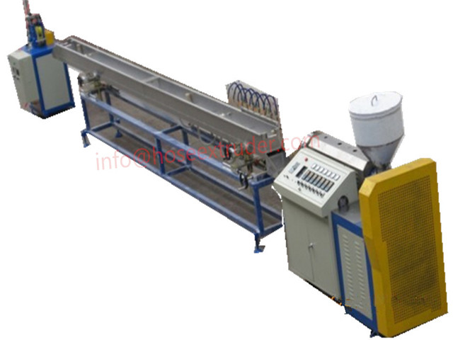 Single Layer PVC Hose Extrusion Line